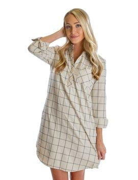 Dakota Flannel Dress by Lauren James