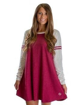 Varsity Long Sleeve Dress by Lauren James