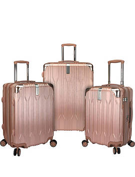 Bell Weather 3 Piece Expandable Spinner Luggage Set by Traveler's Choice