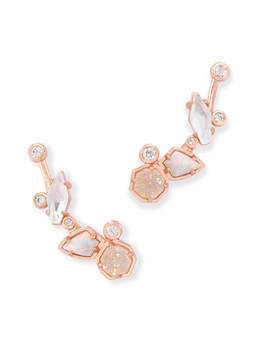 Troian Ear Climbers In Radiant by Kendra Scott