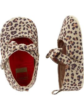 Carter's Leopard Mary Jane  Baby Shoes by Carter's