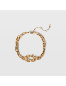 Knotted Tassel Bracelet by Club Monaco