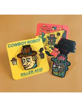 Pin: Cowboy Robot by Strand Book Store