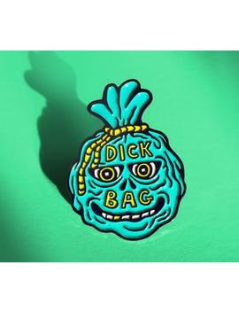Pin: D*Ck Bag by Strand Book Store