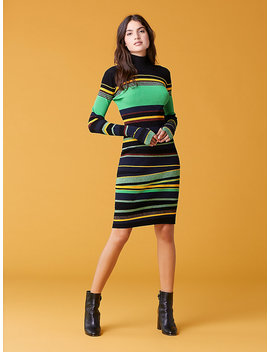 Finn Striped Dress by Dvf