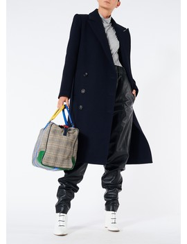Giles Wool Double Breasted Coat by Tibi