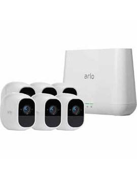 Arlo Vms4630 P 100 Nas Arlo Pro 2 6 Wire Free Hd Security Cameras, Built In Siren by Arlo
