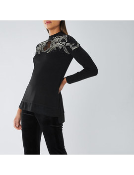 Rene Embellished Knit Top by Coast