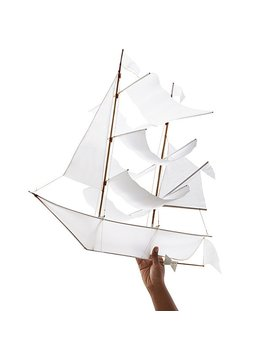 white-sailing-ship-kite by emily-fischer