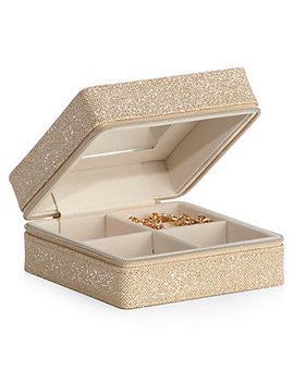 Glimmer Travel Jewelry Box by Z Gallerie
