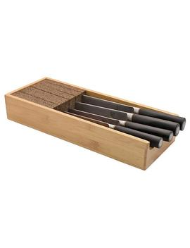 Bamboo Knife Dock by Container Store