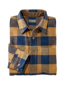 Signature Washed Twill Shirt, Long Sleeve by L.L.Bean
