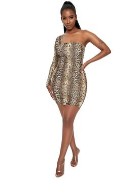 Got U Rattled Mini Dress by Naked Wardrobe