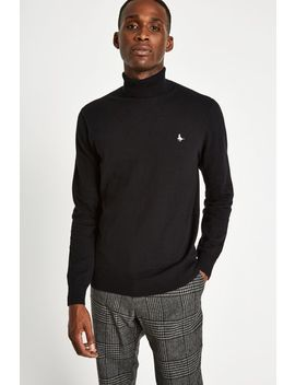 Jacob Roll Neck Jumper by Jack Wills