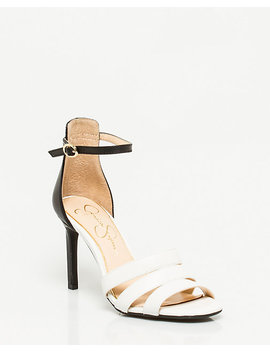 Nubuck Leather Ankle Strap Sandal by Le Chateau