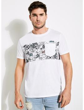 Street Collage Graphic Tee by Guess