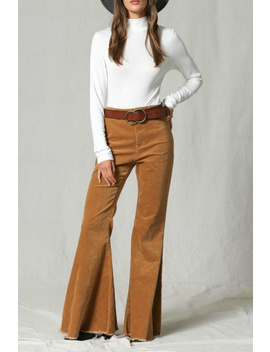 Corduroy Bell Bottoms by Poe And Arrows, Texas
