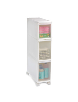 Like It White Slim Tower by Container Store