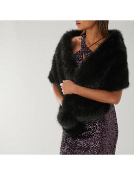 Luella Pom Pom Faux Fur Scarf by Coast