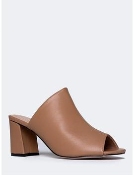 High Heel Sandal Mule by Zooshoo
