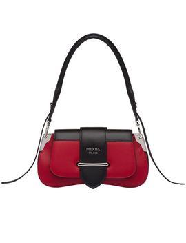 Prada Sidonie Leather Shoulder Bag by Prada