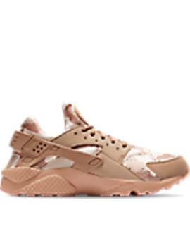 Men's Nike Air Huarache Run Camo Casual Shoes by Nike