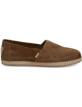 Dark Amber Suede Women's Classics by Toms