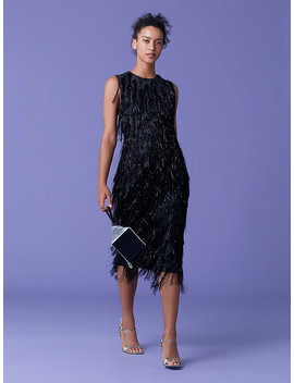 Nadi Fringe Dress by Dvf