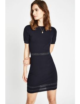Richland Metallic Stripe Dress by Jack Wills