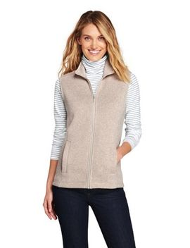 Women's Sweater Fleece Vest by Lands' End