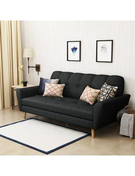 angelica-mid-century-tufted-fabric-sofa by gdf-studio