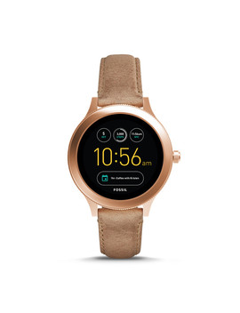 Refurbished Gen 3 Smartwatch   Venture Sand Leather by Fossil