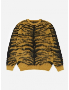 Tiger Mohair Sweater   Gold by Needles