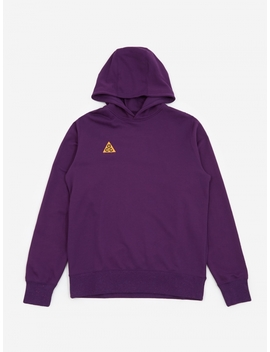 Acg Hooded Sweatshirt   Night Purple by Nike
