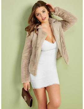 Emily Faux Fur Jacket by Guess