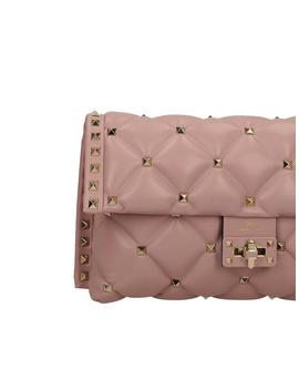 Candystud Shoulder Bag   Light Pink by Valentino