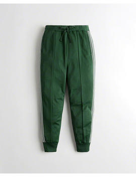 High Rise Track Joggers by Hollister