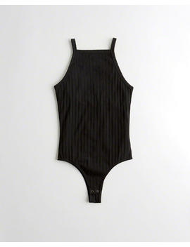 High Neck Bodysuit by Hollister