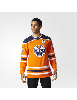 Oilers Home Authentic Pro Jersey by Adidas