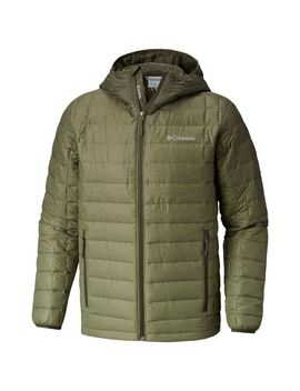 Men's Voodoo Falls 590 Turbo Down™ Hooded Jacket   Big by Columbia Sportswear