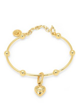 Banner Clip Charm Bangle by Juicy Couture