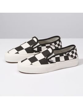 Mega Check Slip On Sf by Vans