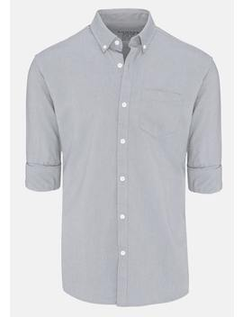 Silver Chapman Slim Casual Shirt by Connor
