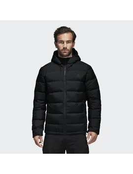 Helionic Hooded Down Jacket by Adidas