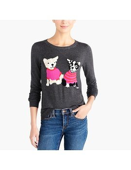 French Bulldog Teddie Sweater by J.Crew