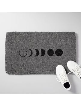 Moon Phase Doormat by West Elm