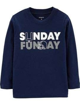 Sunday Football Jersey Tee by Carter's
