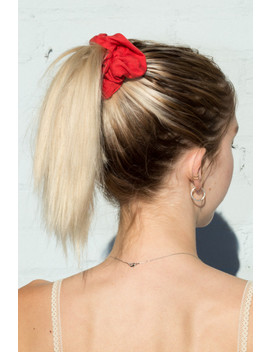 Red Scrunchie by Brandy Melville