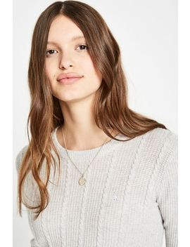 Tinsbury Metallic Cable Crew by Jack Wills