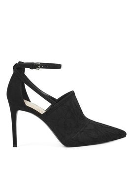 Tahan Pointy Toe Ankle Strap Pumps by Nine West
